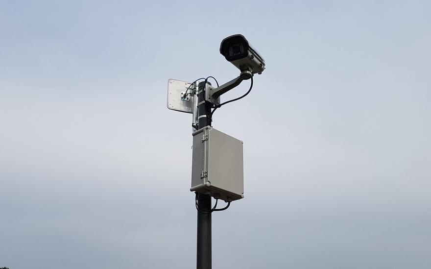 전원 주택 단지 무선AP를 이용한 CCTV System 설치