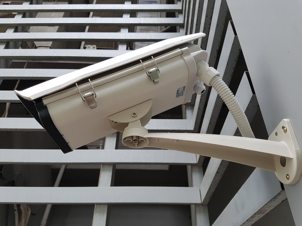 평촌 공장형빌딩 320만화소 IP카메라설치