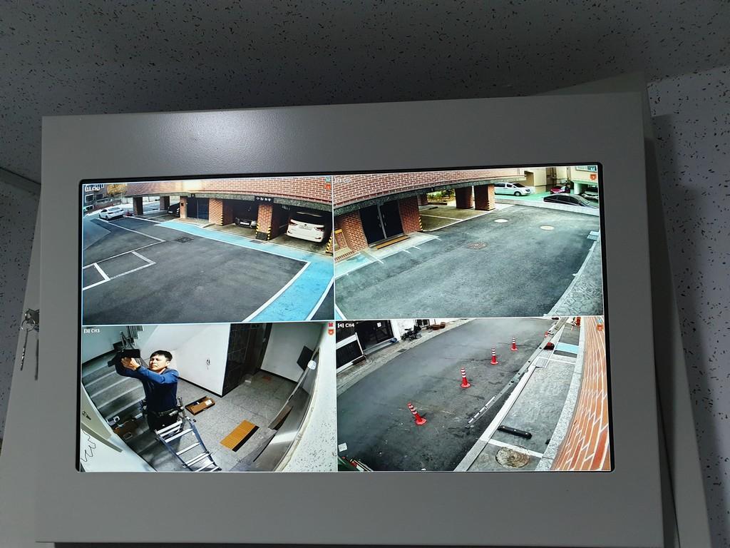CCTV일체형 함체